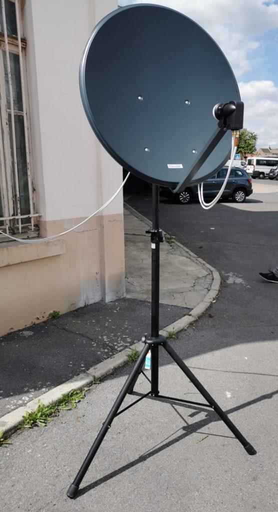 Antenne Satelitte F8KHW Radio-Club de Harnes - 4